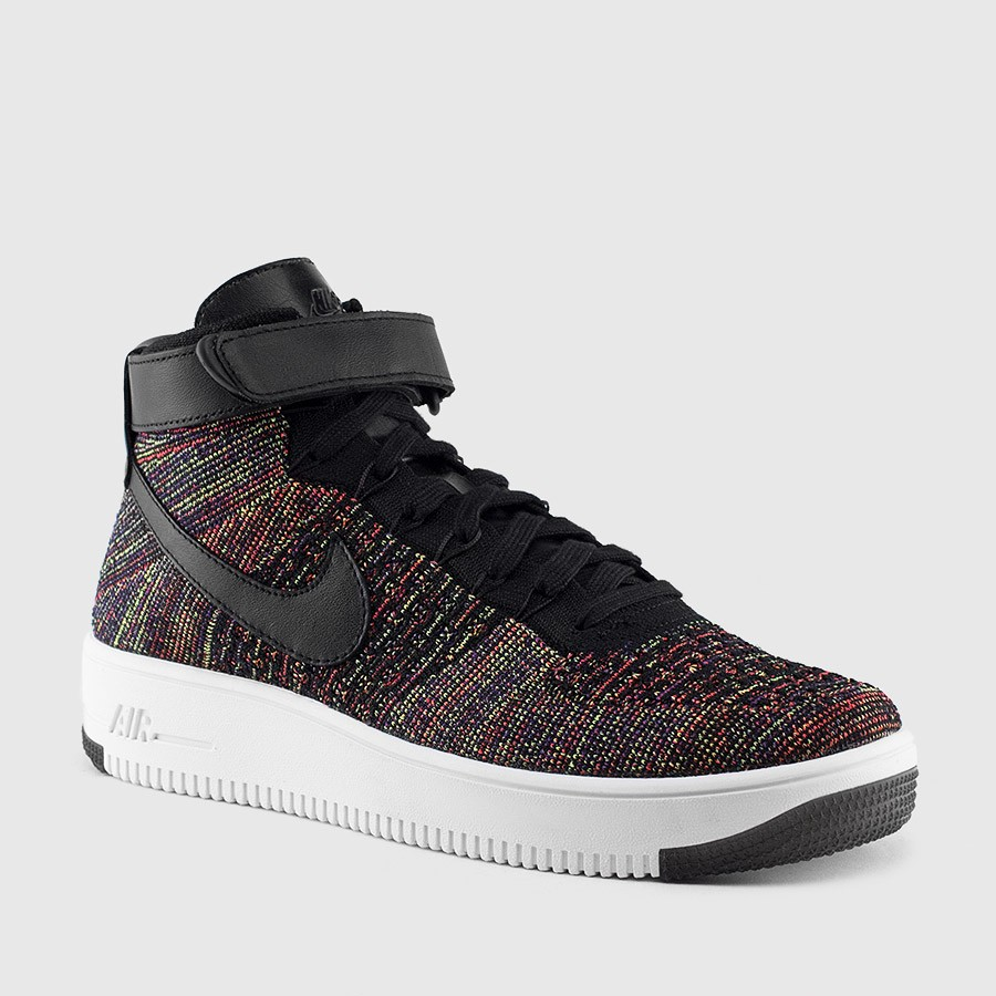 nike flyknit ultra high multicolor