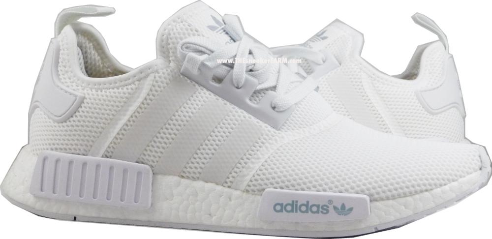 hpjkzx Sneaker Farm Brings Us the Triple White adidas NMD R1 - WearTesters