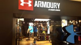 Champs and Under Armour Join forces for the Armoury