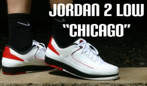 "Air Jordan 2 Retro Low ""Chicago"" On Foot Review"