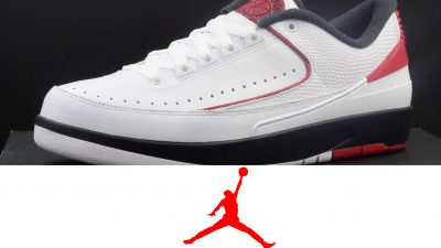 Air Jordan 2 Low Retro 'Chicago'   Detailed Look and Review
