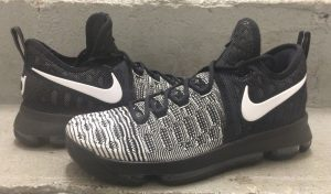 Another Look at the Nike KD 9 in Black/ White