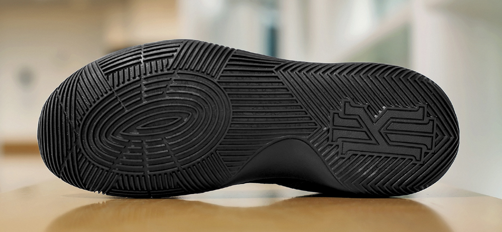 get up close and personal with the nike kyrie 2 triple black .