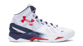 The Under Armour Curry 2 'USA' is Available Now