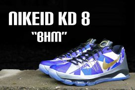 "NIKEiD KD 8 ""BHM"" – Detailed and On Foot Review"