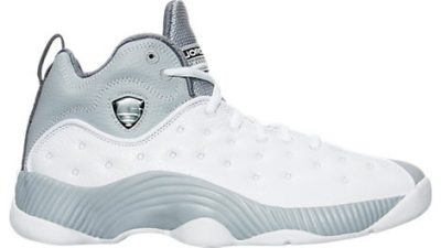 The Jordan Jumpman Team II (2) Retro is Now Available in White Black - Wolf Grey 1
