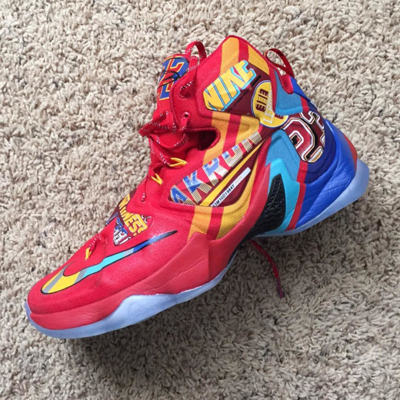 new style e8d02 7424d The Nike LeBron 13 'EYBL' Has Surfaced - WearTesters