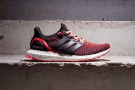 You Can Grab the New adidas Ultra Boost 'Solar Red' Gradient For the Low