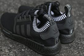 Boost Finally Goes Black on the NMD_R1 'Triple Black'