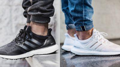 adidas ultra boost core black triple white