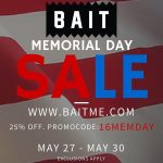 BAIT Memorial Day Sale Offers 25% Off Sitewide