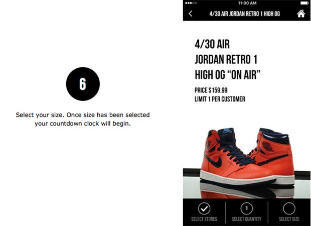 Foot Locker Unveils New App Launch Reservation Procedure