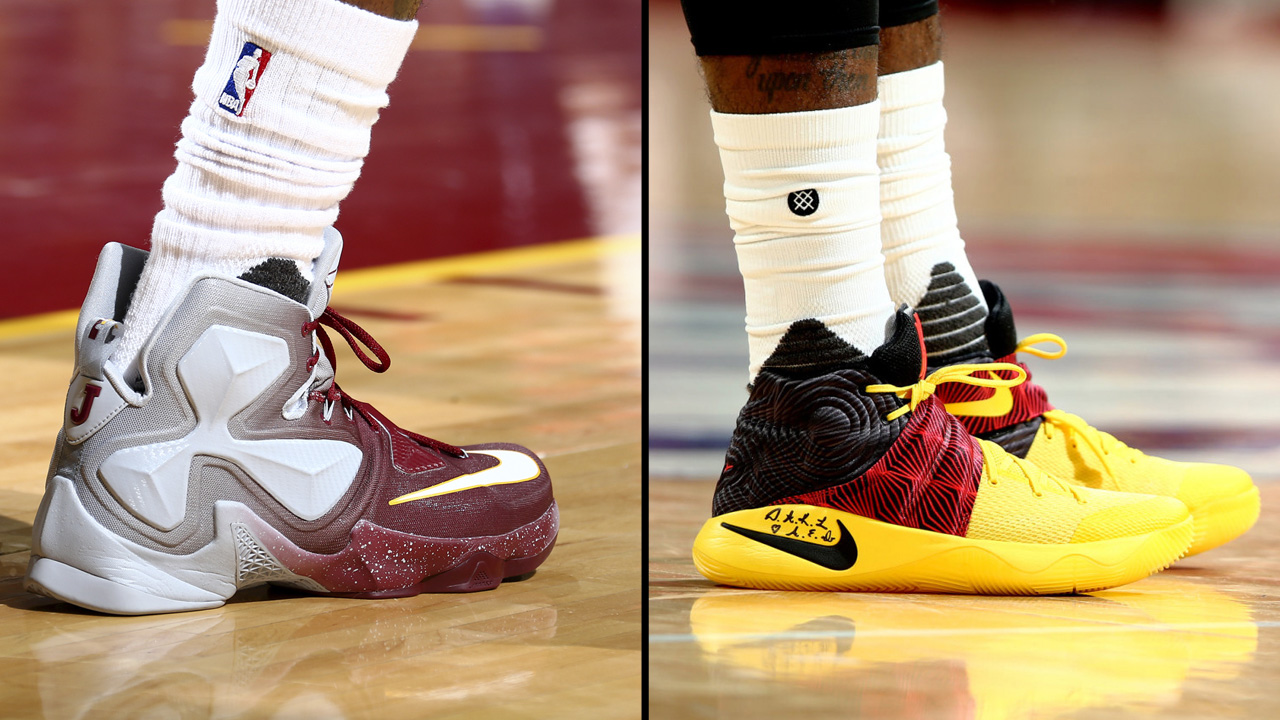 LeBron vs. Kyrie: Who Had the Better PE - WearTesters