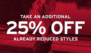 25% Off Reduced Styles at Saucony