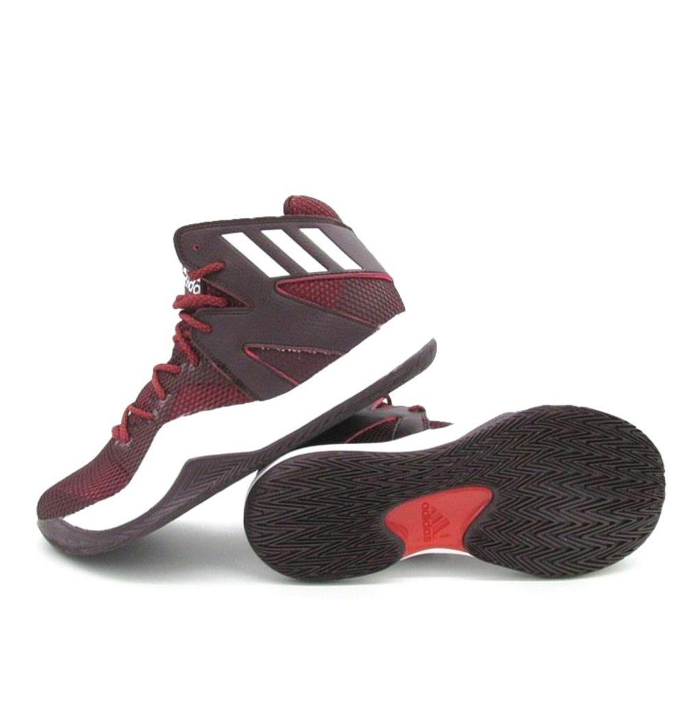 b2e143d6ee288 maroon adidas basketball shoes Sale