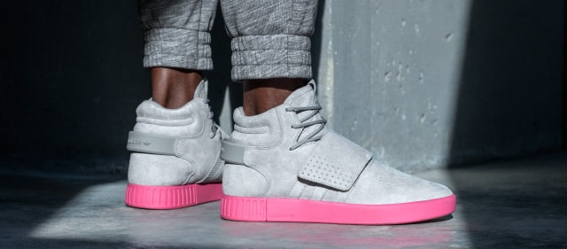 Adidas Tubular Invader Strap Grey