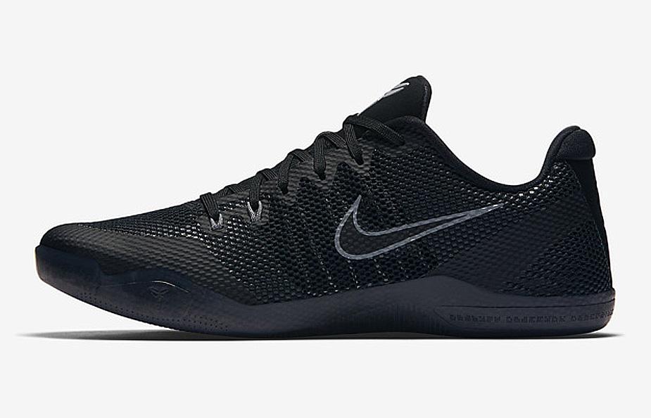 pretty nice 56782 c3c42 The Nike Kobe 11 EM 'Triple Black' is Available Now ...
