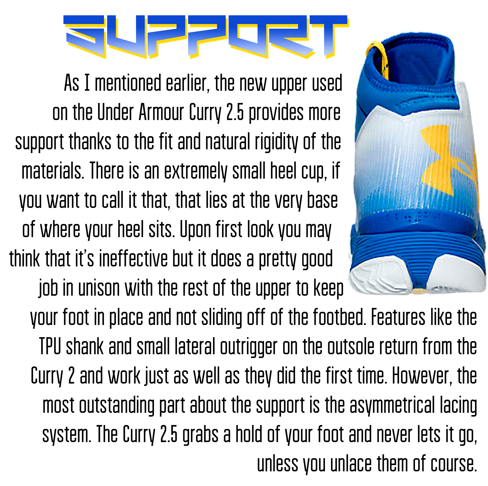 Curry 2.5 - Support