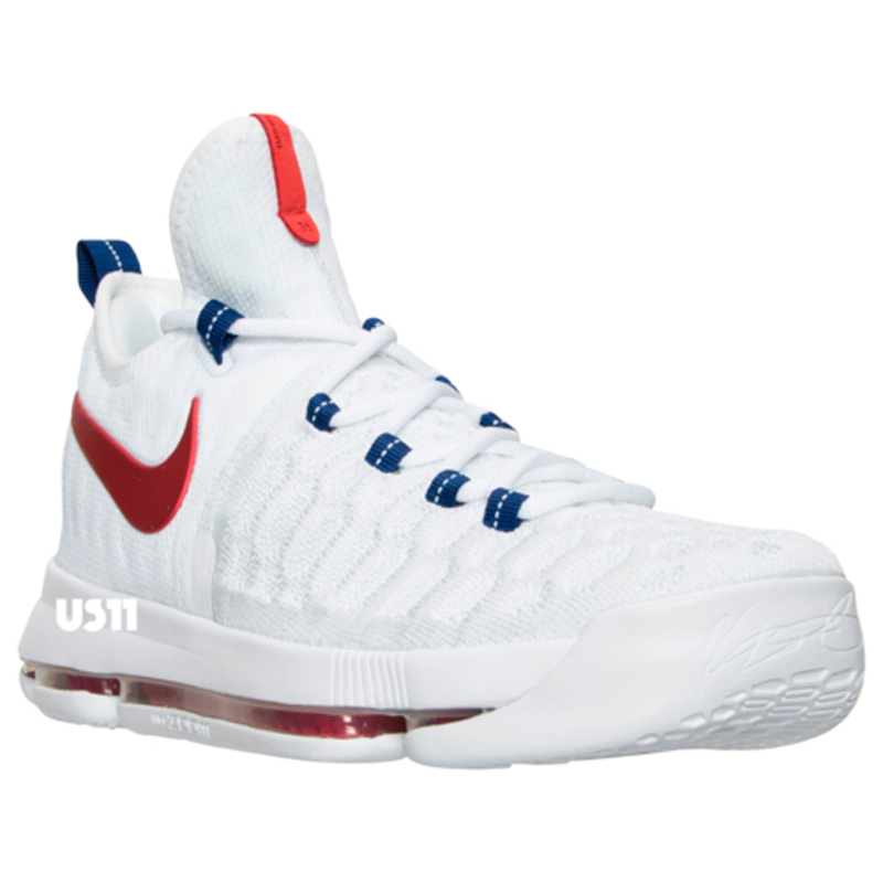premium selection 102ac c7868 Get a Detailed Look at the Nike KD 9 in White/ University ...