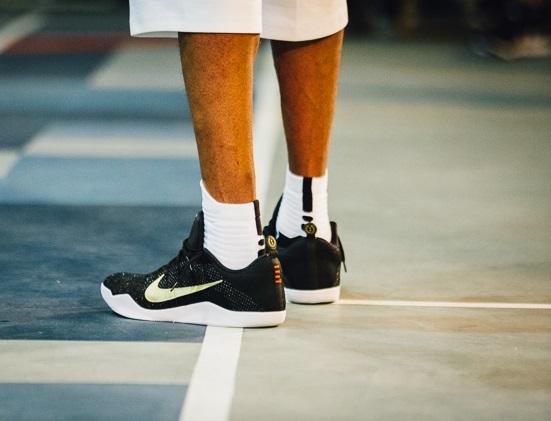 Kobe Debuts New Nike Kobe XI Elite GCR