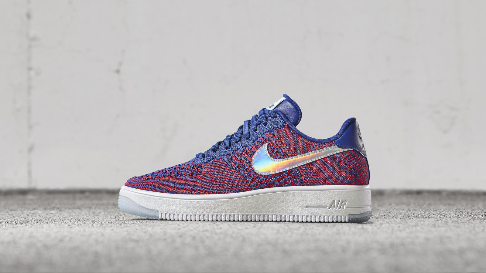 the nike air force 1 ultra flyknit low gets a 39 usa 39 colorway weartesters. Black Bedroom Furniture Sets. Home Design Ideas