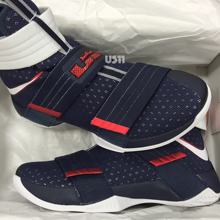 pretty nice 42556 2ef3a The Nike Zoom Soldier 10 Gets Patriotic - WearTesters