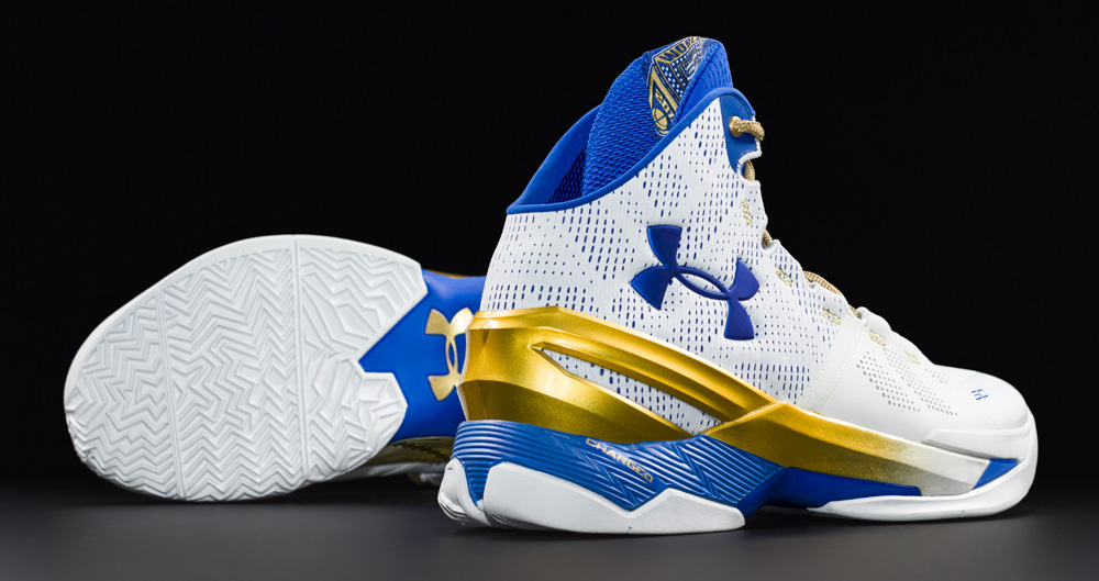 The Under Armour Curry 2 'Gold Rings' is Available Now