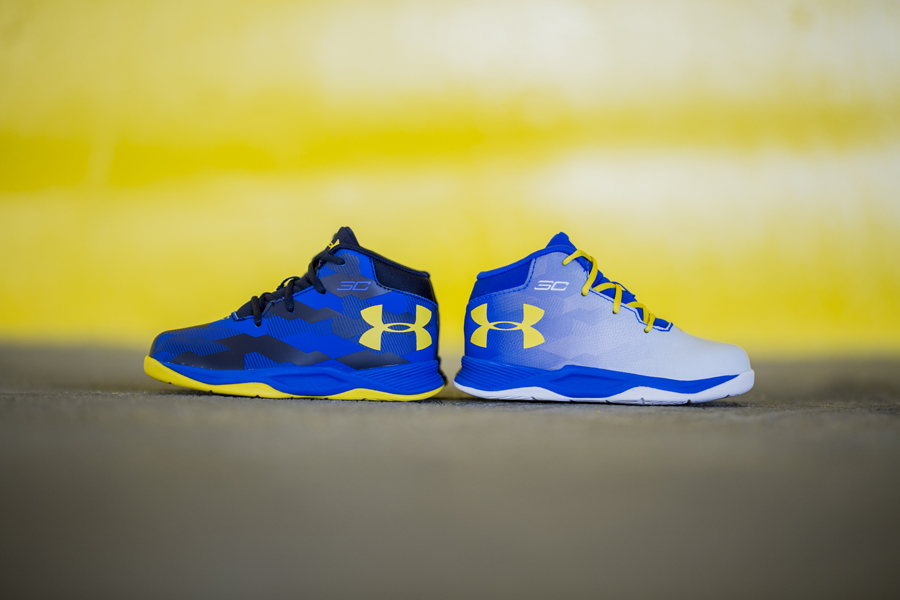 The Under Armour Curry 2.5 for Your Mini DubNation in Training 1