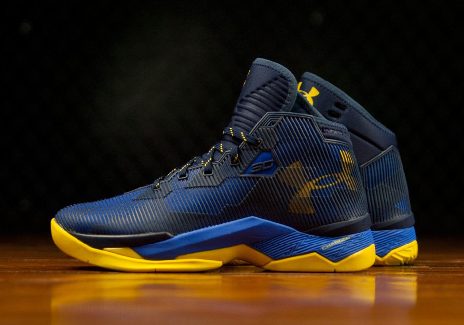 super popular 3376a c8ed3 The Under Armour Curry 2.5 'Dub Nation' is Available Now ...