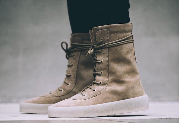 9040df8432b The Yeezy Season 2 Crepe Sole Boot is Available Now - WearTesters