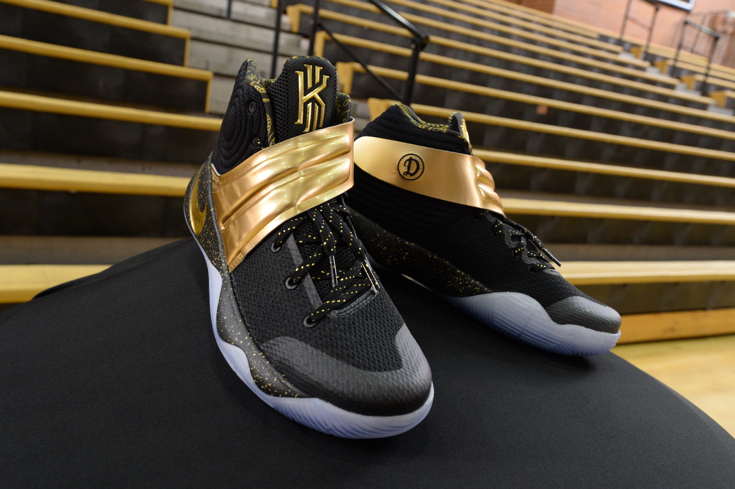 best sneakers 8efc8 befb3 Drew League Champs Get Custom Kyrie 2 NikeiD - WearTesters