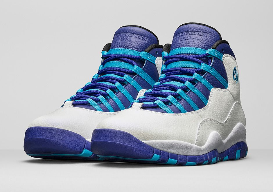new concept 2f0b3 56137 The Air Jordan 10 Retro 'Charlotte' Gets a Release Date ...