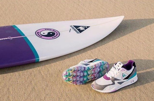 le coq sportif x T and C surf 3