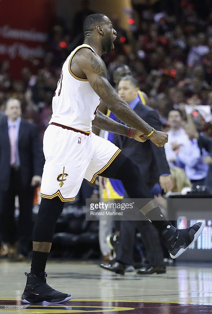 LBJ Rocked the Nike LeBron Soldier 10 for Game 3 - WearTesters