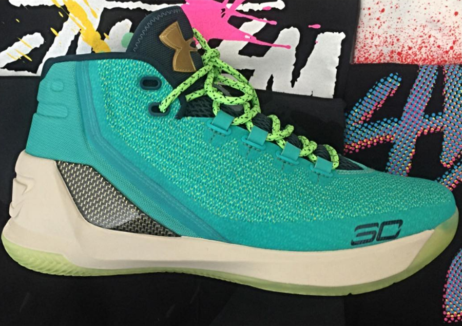 43030e3e6dd Authentic Under Armour Curry 3 Begins to Leak - WearTesters