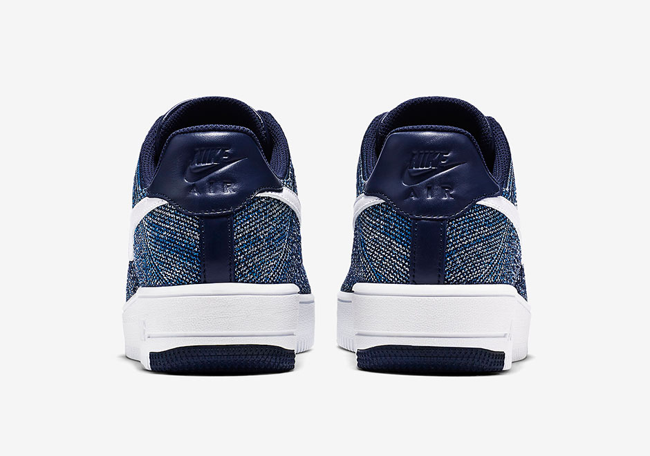 separation shoes b757b 5a314 ... canada check out the nike air force 1 flyknit in navy 6 c761d bb378