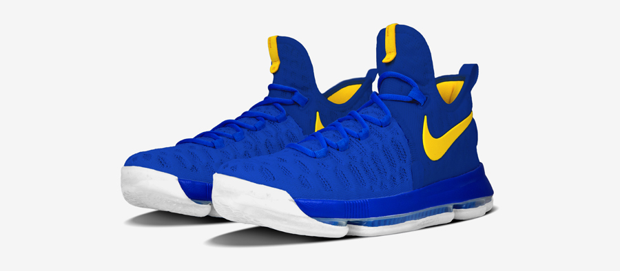 NIKEiD Offers the Nike KD 9 in DubNation Colors 10