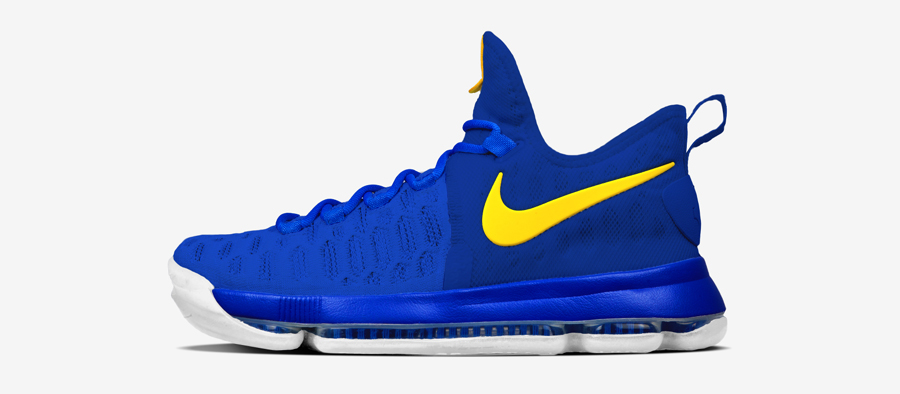 NIKEiD Offers the Nike KD 9 in #DubNation Colors - WearTesters