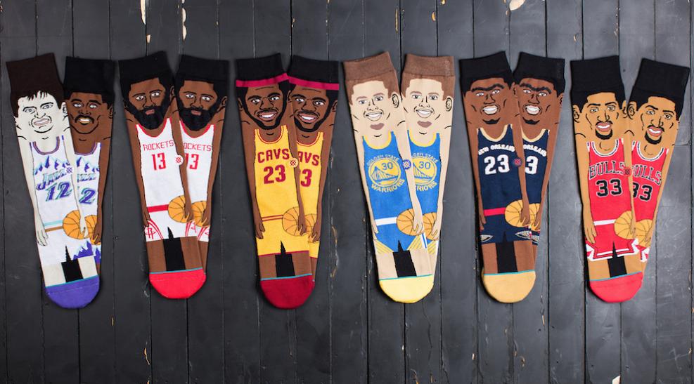 stance announces new nba cartoon socks weartesters