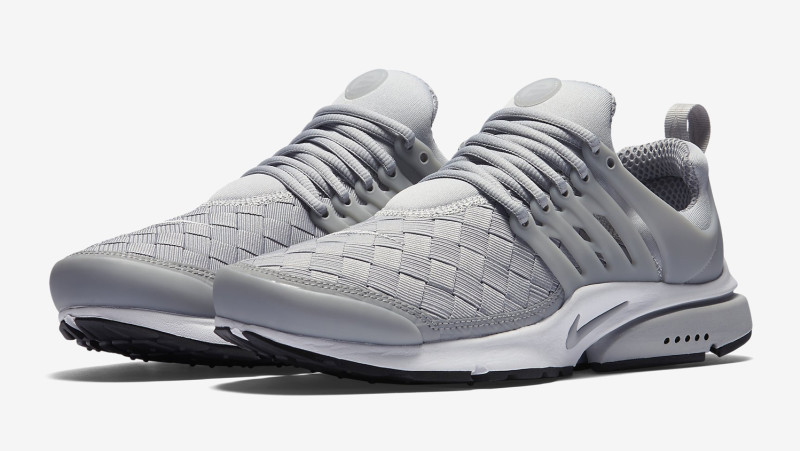 the nike air presto se uses a woven upper weartesters. Black Bedroom Furniture Sets. Home Design Ideas