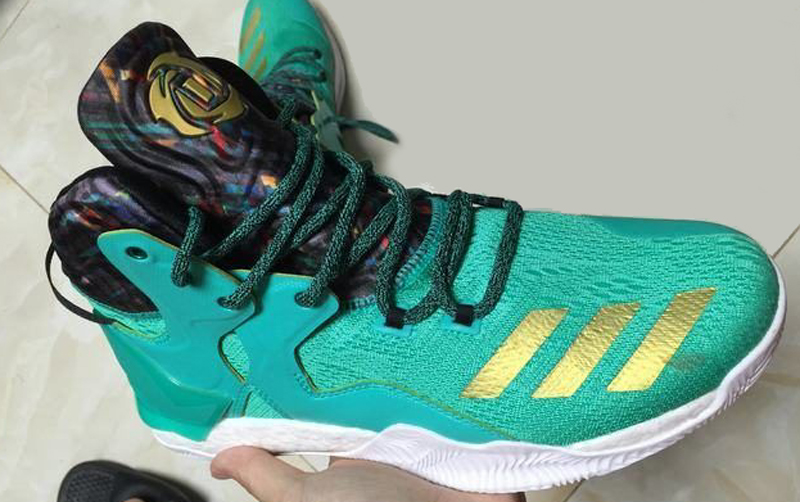 0c758064de63 The adidas D Rose 7 is Spotted in Teal/ Gold - WearTesters