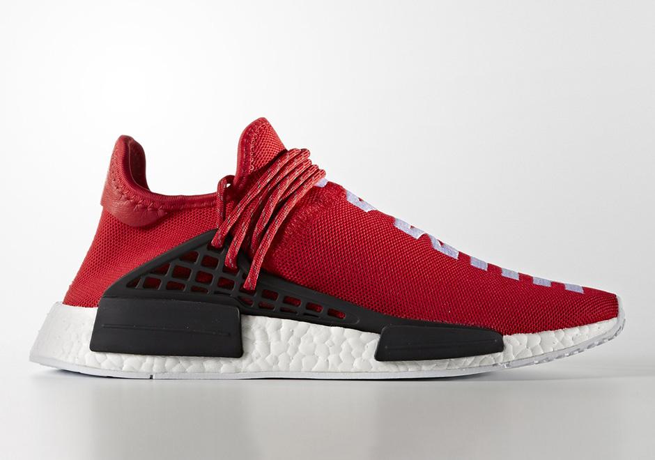 Adidas Nmd Pharrell Menneskelige Rase Rød ysxCr5u4