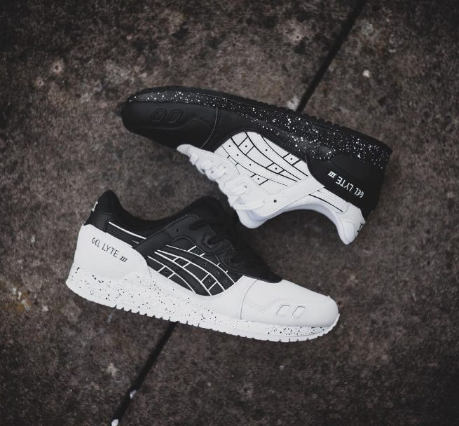 asics gel lyte 3 oreo on feet