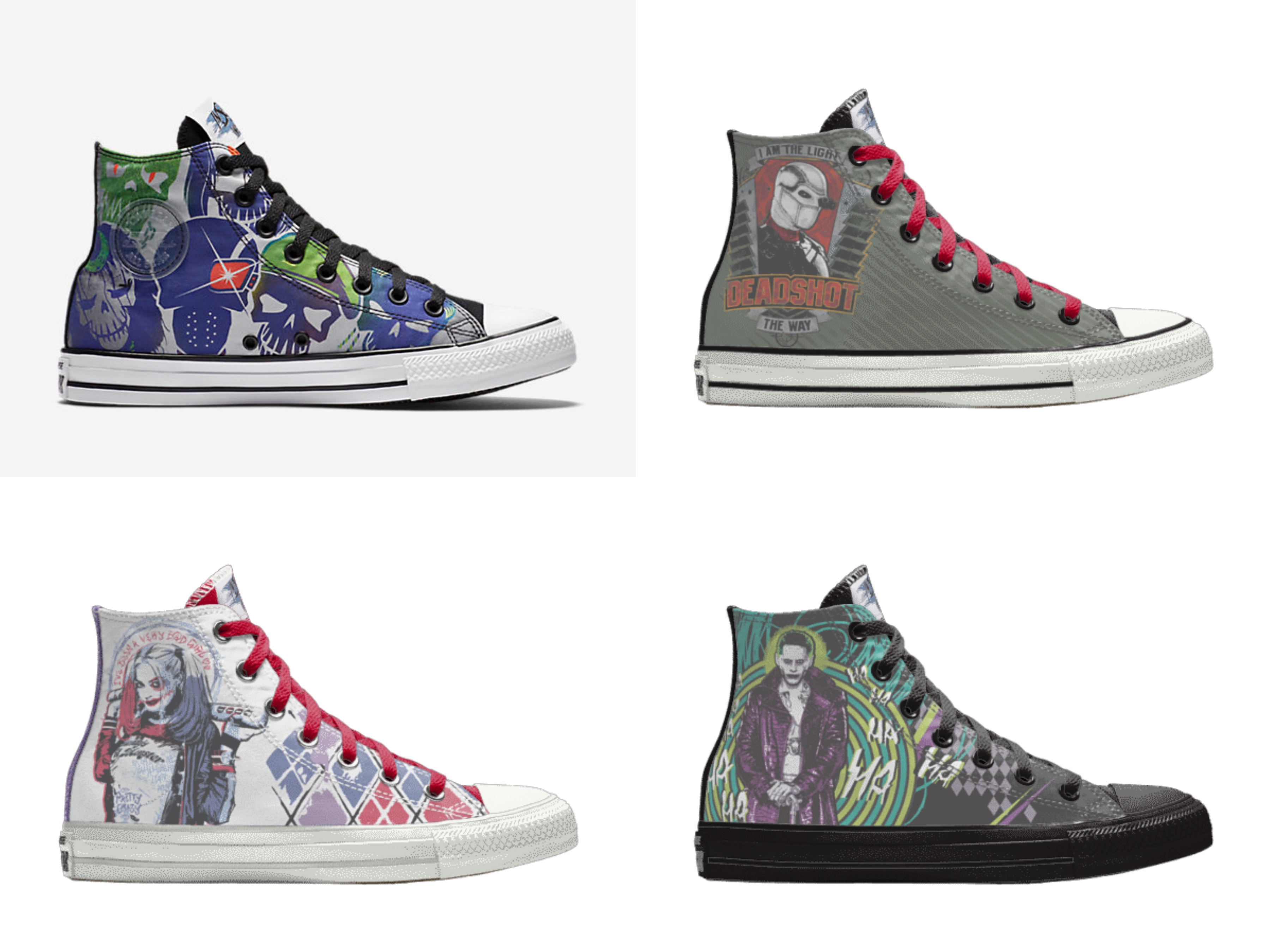 Cause a Stir in the Converse Chuck Taylor All Star DC