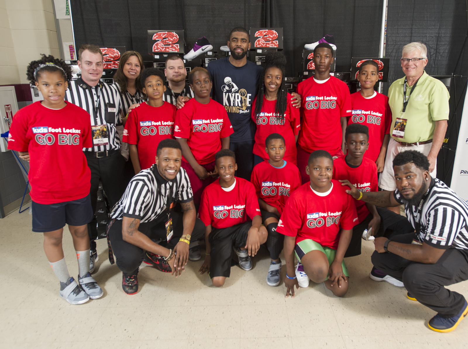 nike foot locker basketball camp