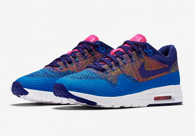 the nike air max 1 flyknit goes multicolor weartesters. Black Bedroom Furniture Sets. Home Design Ideas