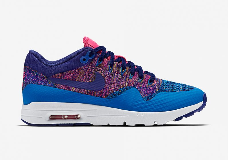 nike air max 1 flyknit multicolor