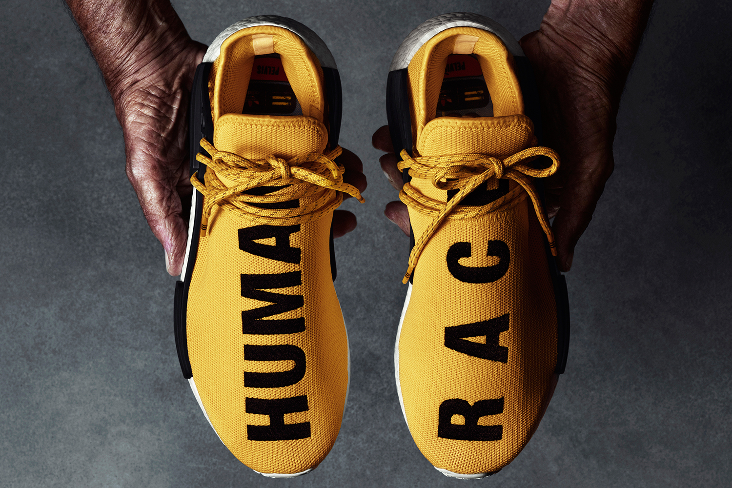 new style d5c7c 2ae34 Get an Official Look at the adidas x Pharrell NMD 'Human ...