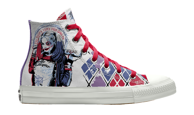 You Can Create Your Own Suicide Squad Converse Now Weartesters