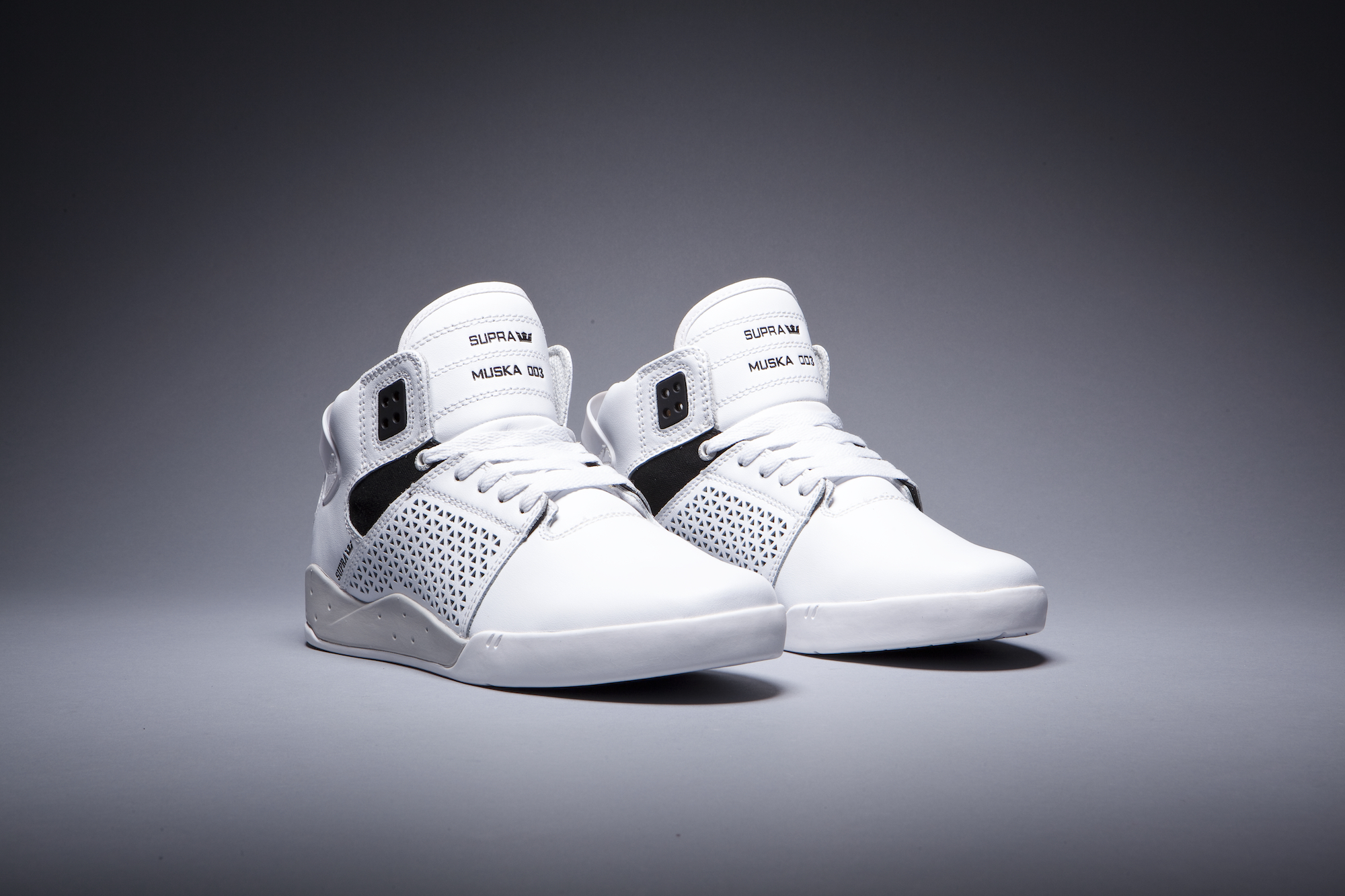 supra SKYTOP III CD WHITE